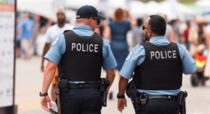 Peace Officer State of Texas Intervening